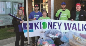 Support for the Kidney Foundation